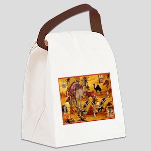 Best Seller Camel Canvas Lunch Bag