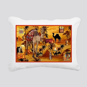 Best Seller Camel Rectangular Canvas Pillow