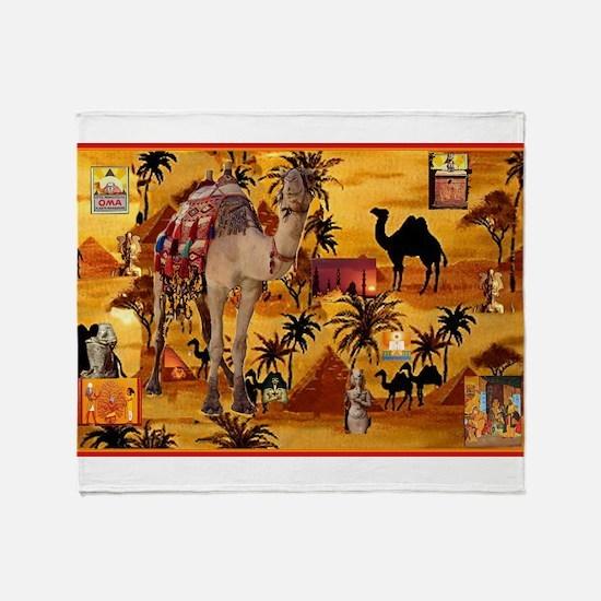 Best Seller Camel Throw Blanket