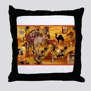 Best Seller Camel Throw Pillow