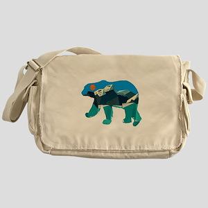 THE POLAR PATH Messenger Bag