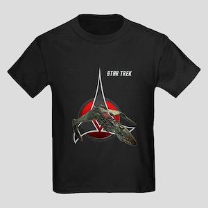 Klingon Empire korok Kids Dark T-Shirt