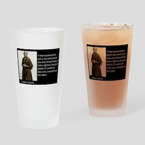Harriet Tubman Drinking Glass