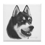 Siberian Husky Tile Coaster