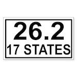262in17 Sticker (Rectangle 10 pk)