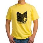 Border Collie Yellow T-Shirt