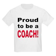 Proud Coach Kids T-Shirt