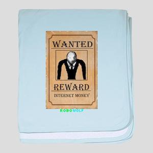 Slender Wanted baby blanket
