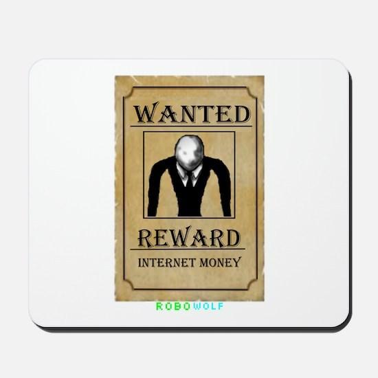 Slender Wanted Mousepad