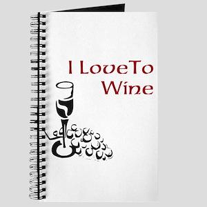 I love to wine Journal