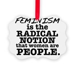 Feminism Radical Notion Picture Ornament