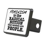 Feminism Radical Notion Rectangular Hitch Cover