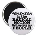 "Feminism Radical Notion 2.25"" Magnet (10 pack"