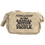 Feminism Radical Notion Messenger Bag