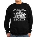 Feminism Radical Notion Sweatshirt (dark)