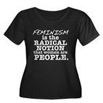 Feminism Radical Notion Women's Plus Size Scoop Ne