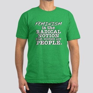 Feminism Radical Notion Men's Fitted T-Shirt (dark
