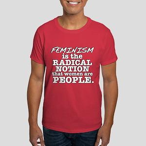 Feminism Radical Notion Dark T-Shirt