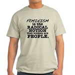 Feminism Radical Notion Light T-Shirt