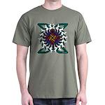 Celtic Ferret Ring Dark T-Shirt