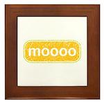 moooo Framed Tile