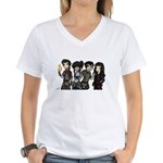 Art By Airbabies Women's V-Neck T-Shirt