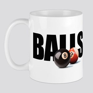 Billiards BALLS Mug