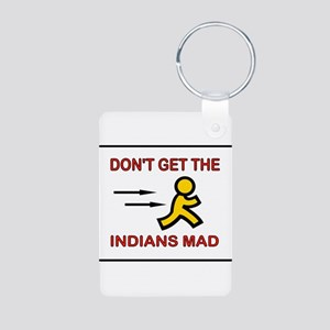 MAD INDIANS Aluminum Photo Keychain