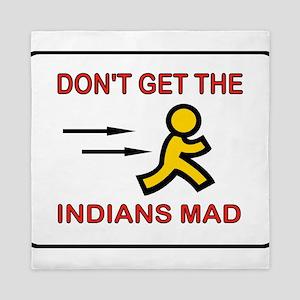 MAD INDIANS Queen Duvet