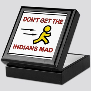 MAD INDIANS Keepsake Box