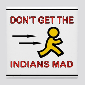 MAD INDIANS Tile Coaster