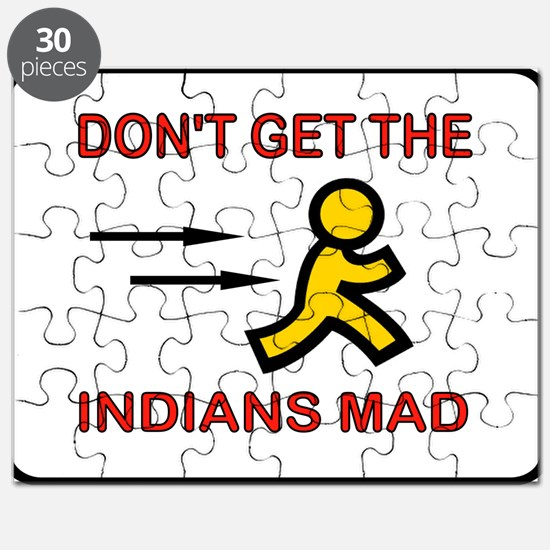 MAD INDIANS Puzzle