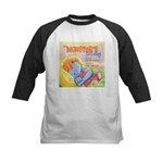 Monsters Lullaby Kids Baseball Jersey
