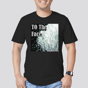 To The Face Men's Fitted T-Shirt (dark)