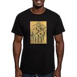 USS OKLAHOMA CITY Men's Fitted T-Shirt (dark)