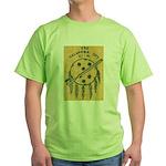 USS OKLAHOMA CITY Green T-Shirt