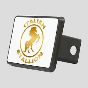 Italian Stallion Rectangular Hitch Cover
