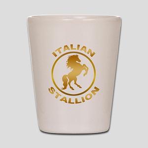 Italian Stallion Shot Glass