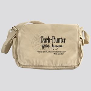 DH Addicts Anonymous Messenger Bag