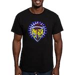 USS ORISKANY Men's Fitted T-Shirt (dark)