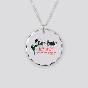 DH Addicts Anonymous Necklace Circle Charm