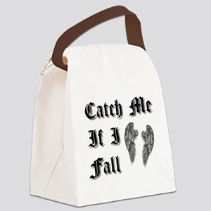Catch Me If I Fall Canvas Lunch Bag