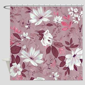 Flower in Pastel Shower Curtain