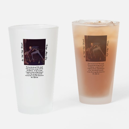 The Tell-Tale Heart Drinking Glass