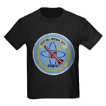 USS OKLAHOMA CITY Kids Dark T-Shirt