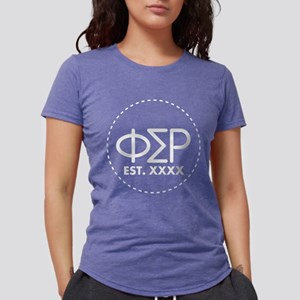 Phi Sigma Rho Circle Womens Tri-blend T-Shirt