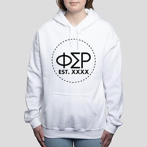 Phi Sigma Rho Circle Women's Hooded Sweatshirt