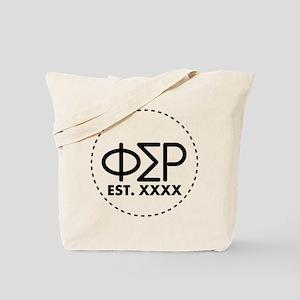 Phi Sigma Rho Circle Tote Bag