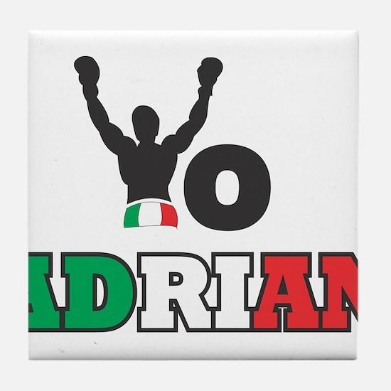 Yo Adrian Tile Coaster