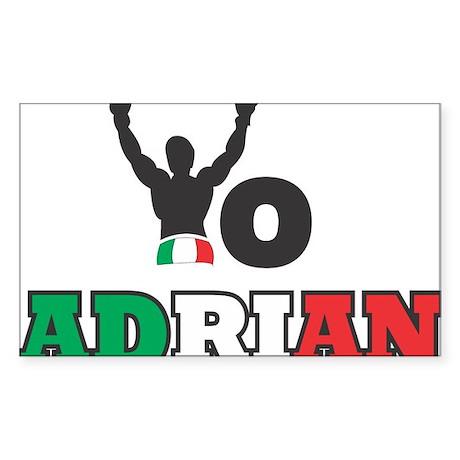 Yo Adrian Sticker (Rectangle)